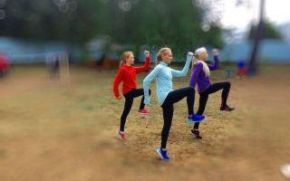 Бег в легкой атлетике