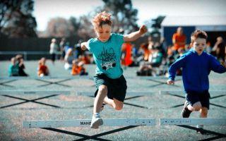 Легкая атлетика в школе