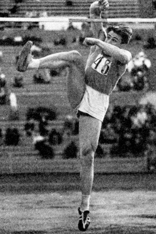 Игорь Кашкаров. Прыжки в высоту