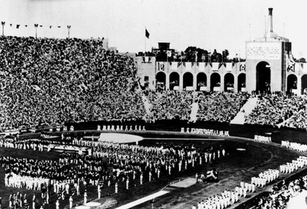Лос-Анджелес стадион Coliseum