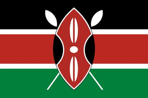 Кении флаг