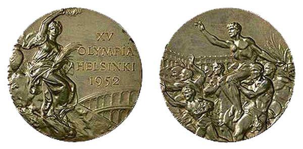 Медаль XV летних Олимпийских игр