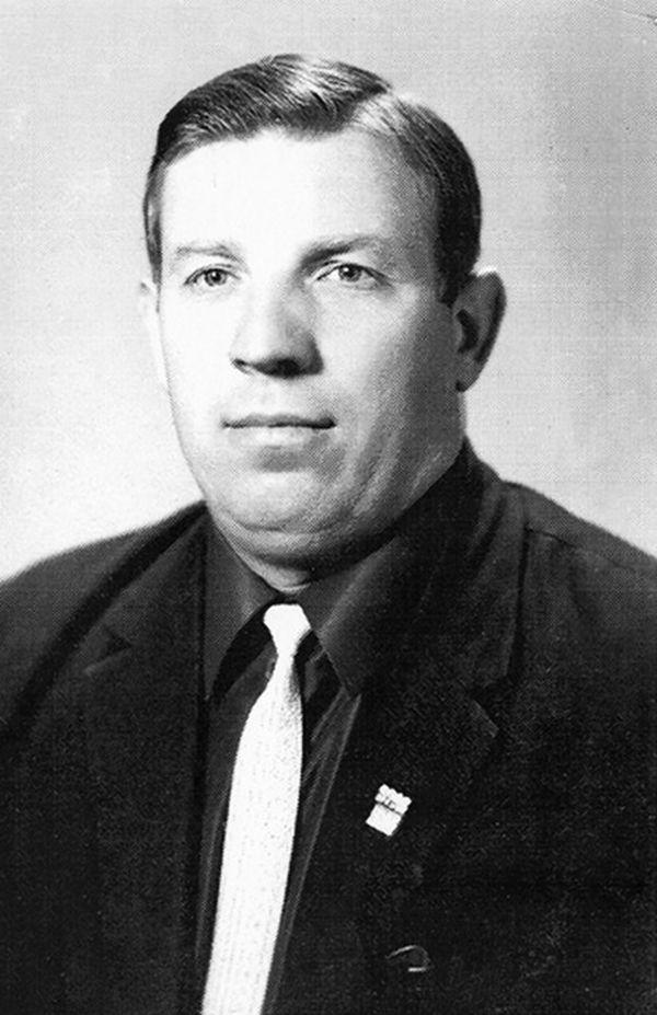 В.Хоменко лучший тренер 1965, 1970, 1981, 1988 годов