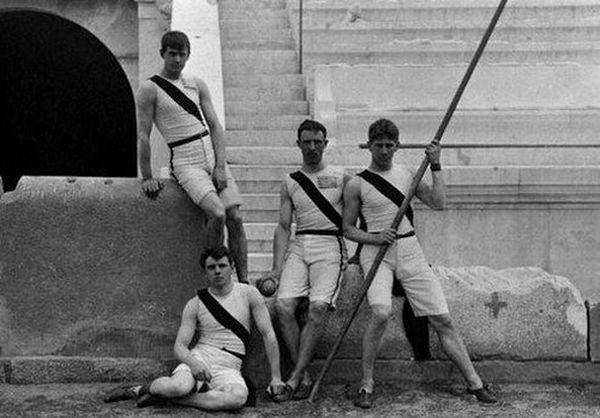 12 видов легкоатлетического спорта. Афины, 1896 год