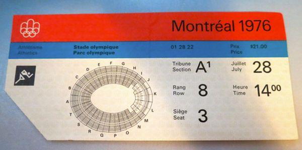 Билет на Олимпиаду