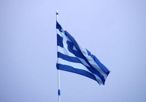 флаг Олимпийских игр Греция