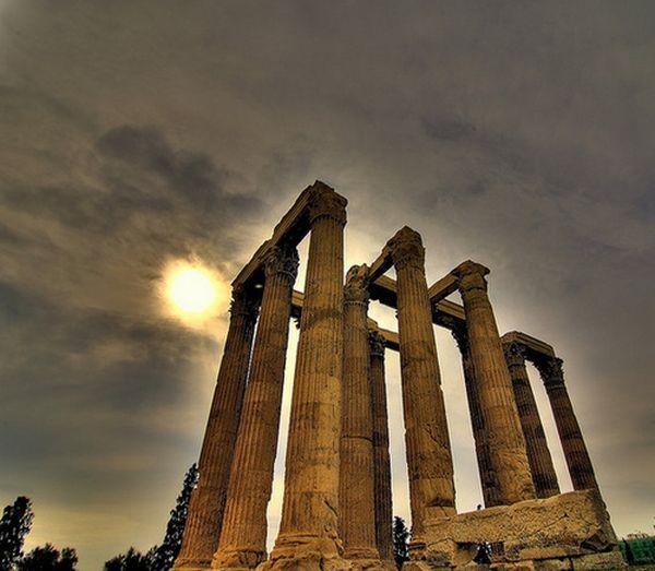 храм Зевса. Олимпейон – Храм Зевса в Афинах