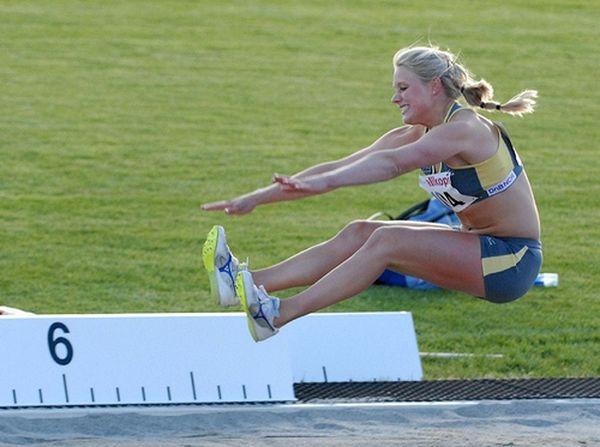 длина женщины Финальные соревнования