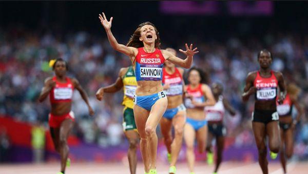 Золото, добытое потом и кровью, пришло к российской команде в забеге на 800 метров у женщин. Мария Савинова отныне не только чемпионка мира, но и олимпийская чемпионка
