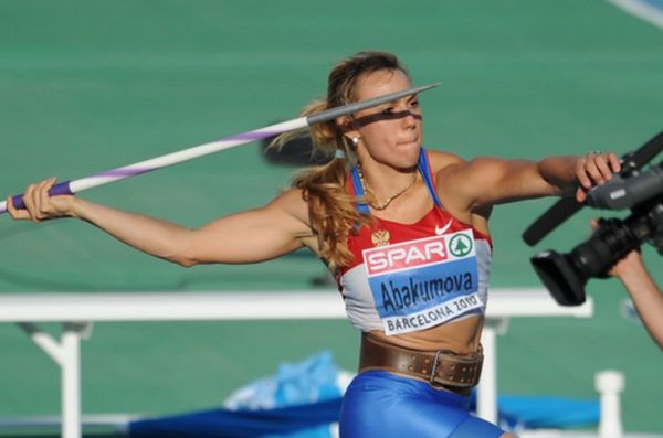 Российские чемпионки по метанию копий