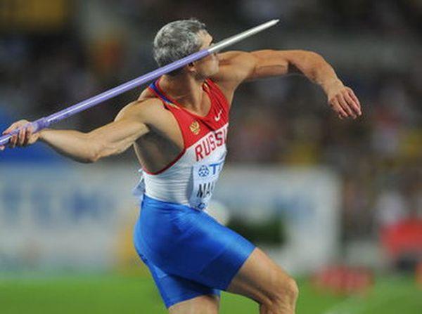 Российские чемпионы по метанию копий