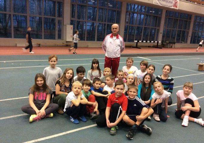занятия легкой атлетикой для детей