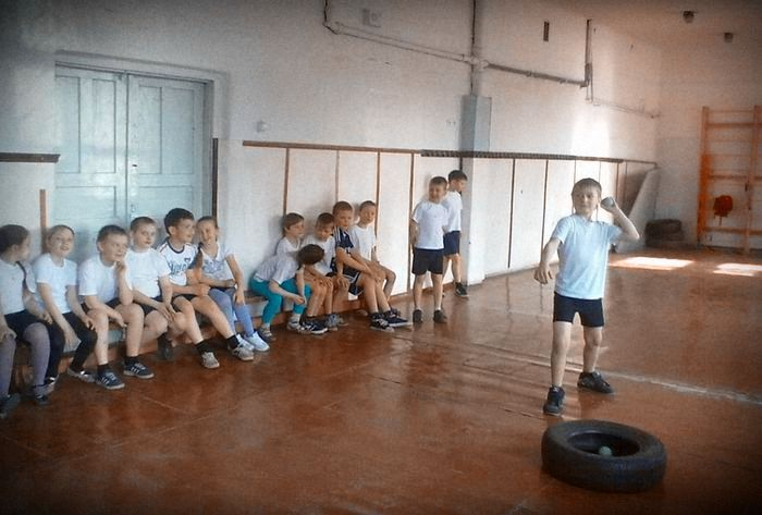 легкая атлетика 4 класс