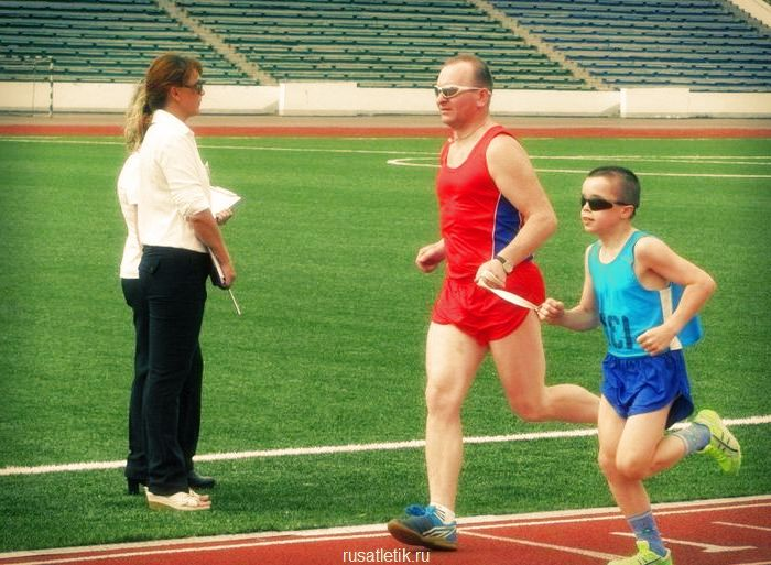 спорт слепых легкая атлетика
