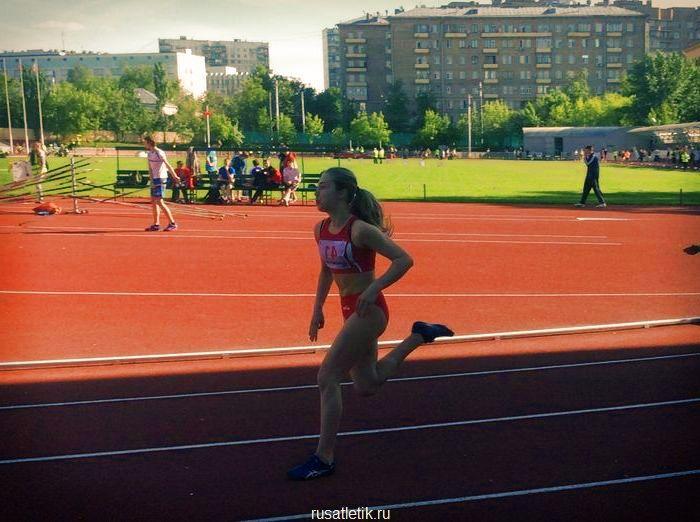 бег женщины