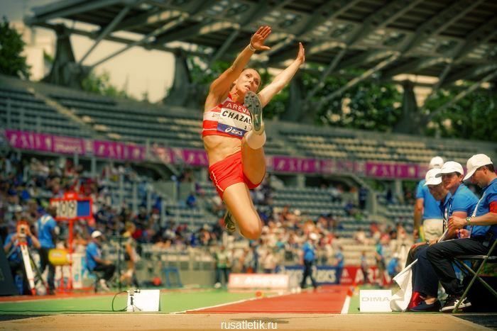 прыжки в легкой атлетике