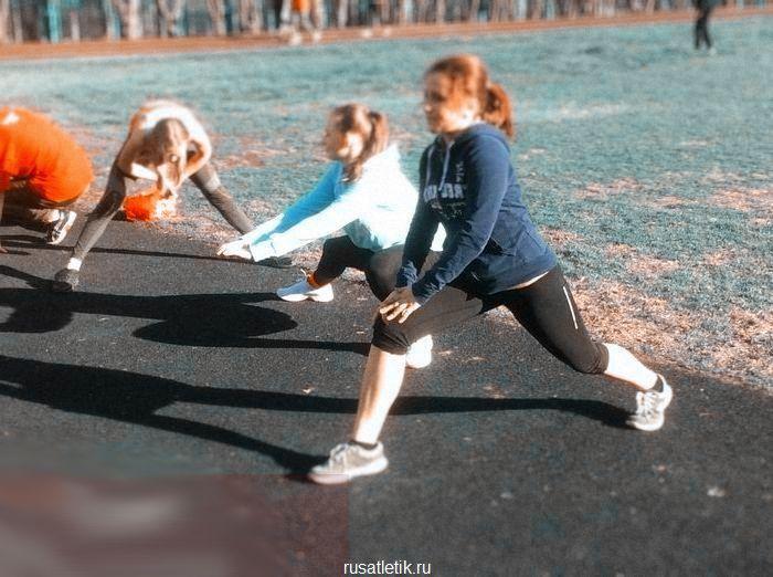 разминка перед бегом упражнения