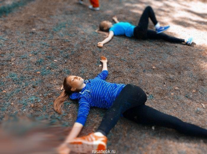 разминка перед тренировкой бег